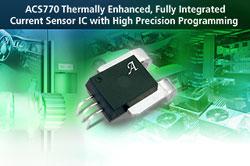 Circuit intégré pour la mesure de courant linéaire avec performance thermique améliorée et de grande précision
