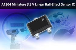 Capteur à effet Hall linéaire miniature pour les applications de moyenne précision en gamme de température industrielle