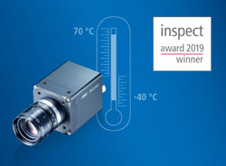 Baumer remporte l'inspect award 2019 avec les caméras CX.I