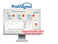Gestion d'énergie avec ProfiSignal - homologuée conforme ISO 50001