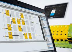 Le micro automate configurable de sécurité PNOZmulti de Pilz avec la nouvelle simulation d'application – simuler désormais une configuration hors ligne !