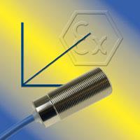 Capteurs capacitifs avec sortie analogique, certifiés ATEX / IECEx, pour Zones 0 et 20