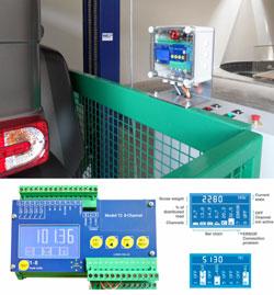 Des axes dynamométriques sur mesure utilisés dans des monte-matériaux